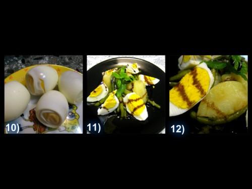 insalatona,fagiolini,patate,uova sode,insalatona patate fagiolini uova sode,aceto balsamico,balcream,guerzoni,fresca,estate,piatto unico,mamme, future mamme,dietetico,ricetta,foto passo passo,buona,leggera,unica,