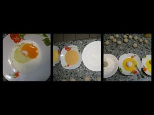 arancini,riso,riso gallo,arancini di riso ,uova,inalpi,prosciutto,sottilette,impanatura,molino peila,mais,croccante,sfizio,fritto,gustoso,tec-al,brodo,brodo granulare,ricetta,tempo,fantastica