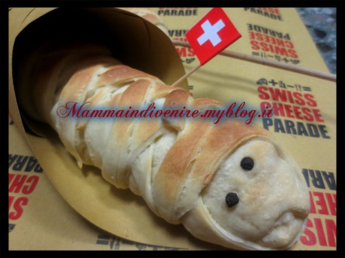 halloween street food per il contest swiss cheese parade