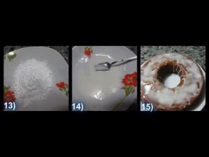 Torta all'uva con frutta ghiaccia 8